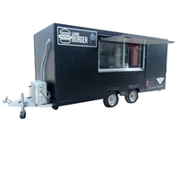 Mobile Food Truck/Street Fast Food Trailer/China Food Cart For Sale In Dubai