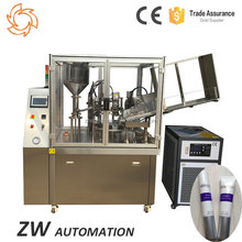 Automatic Beautiful Seal Trail Toothpaste Tube Filler Sealer Machine