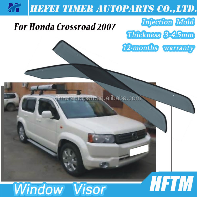 12 months warranty window visor shield visor for Honda Crossroad 2007