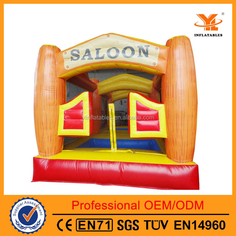 Hot-Sale Inflatable Saloon Jumping Castle, Inflatable Castle, Inflatable Moon Walker