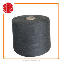 30S/1 100% polyester spun yarn melange color suitable for circular sock knitting machine