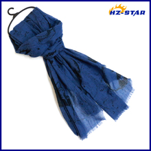 HZW-13438001 2015 Lady Fashion Design Hot Selling Latest Wholesale viscose scarf rayon shawl