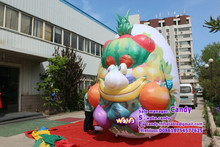 Advertising inflatable egg , inflatable egg cartoon for sale C-298