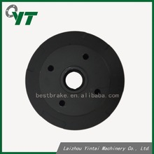 Powder coating black brake drum for Mazda 323 B09226251 rear axle car disc brake rotor