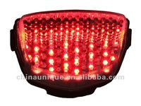 universal integrated scooter tail light