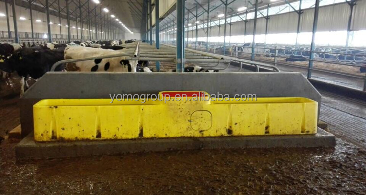 hot sale plastic cattle water trough