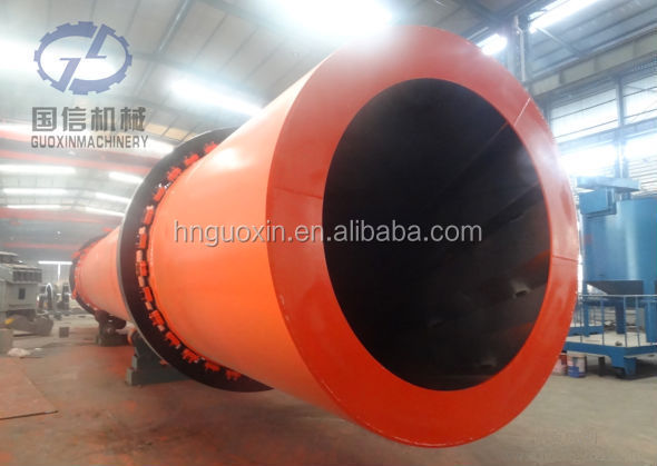 Coal, slag, ore powder, sand Continuous working horizontal dryer