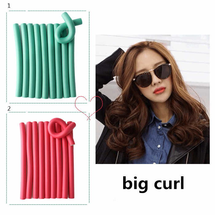 Get Hateless Soft Curls !!! Wholesale Product Hair Curlers Rubber Foam Hair Roller