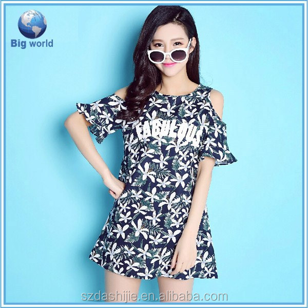 Fashion Korea style shirt,hign quality sublimation women's t-shirt,all over sublimation t-shirt