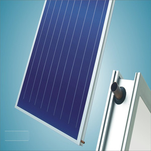 Black chrome solar panel thermal collector