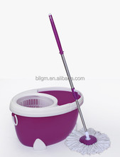 Plastic folding mop,folded 360 magic mop, folding bucket spin mop