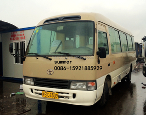 japan brand toyota coaster 30 seats mini bus for sale