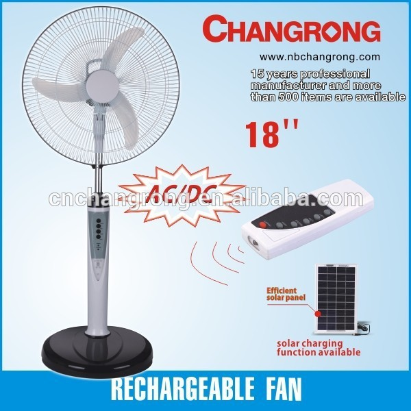 CR-8518 solar powered outdoor fans