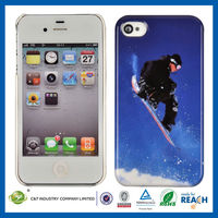 C&T Skiing pattern hard pc cover for iphone 4s