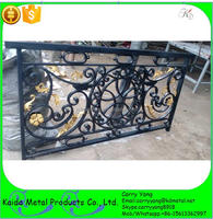 Cheap Wrought Iron Fence Panels for sales