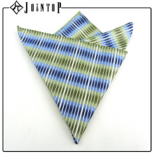 Style high quality blue man bow tie and pocket square
