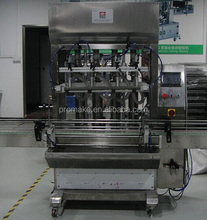 automatic filling machine for cosmetic cream and liquid