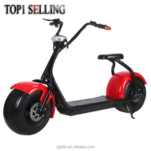 2017 YIDE New Design City Mobility Citycoco 1000W Brushless Big Wheel Harley Electric Scooter For Adult