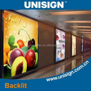 Unisign 14oz Digital Printing Coated Backlit Roll Banner