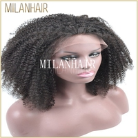 High Grade Short Kinky Curly Synthetic Wig Made In China