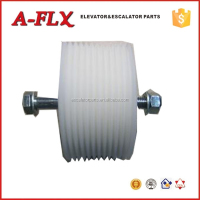 D111*60*6305*2 Escalator Spare Parts Escalator V-belt roller with alxe ,for thyssen escalator