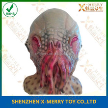 X-MERRY Octopus carnivla mask for sle latex of animal mask new