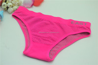 wholesale young girl underwear pink polka dot bikini briefs