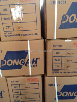 dongah Korea inner tube car butyl tubes