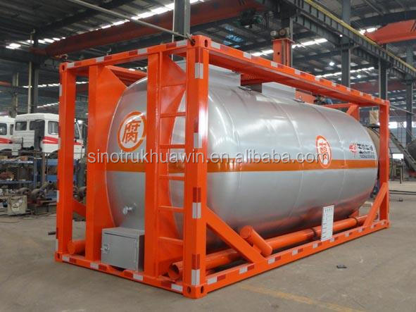 ISO 20FT/40FT LPG Road Tanker Container for sale