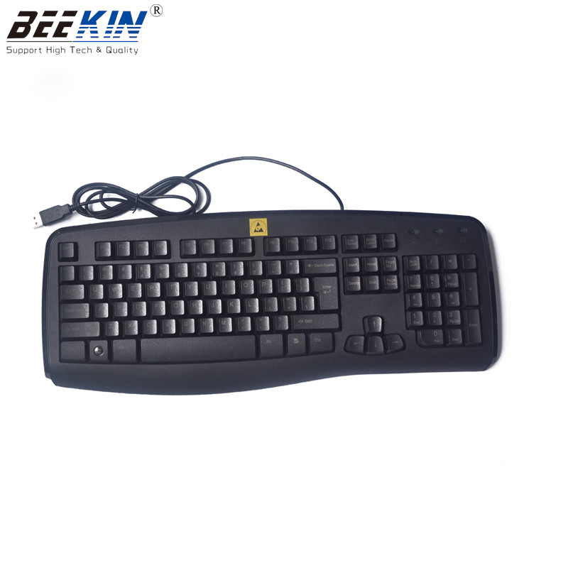 ESD Permanent keyboard made of anti-static raw material