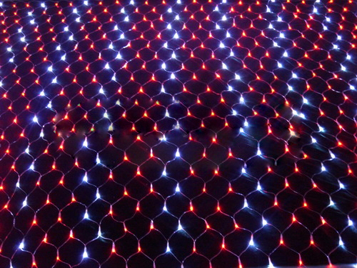 Holiday waterproof led net light, Christmas led finishing net light