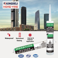 RTV weather resistant structural glazing silicone sealant