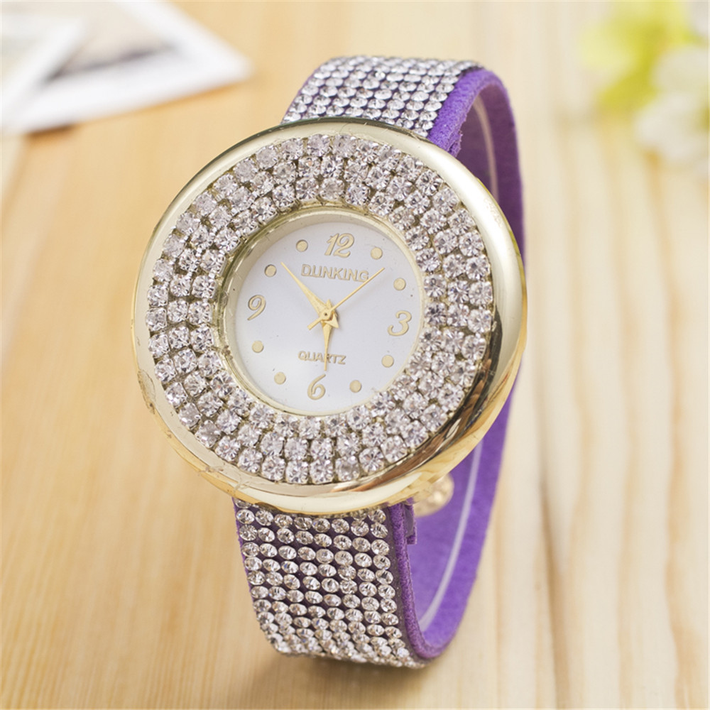 Bohemian Style Gorgeous Floral Colorful Leather Quartz Watch