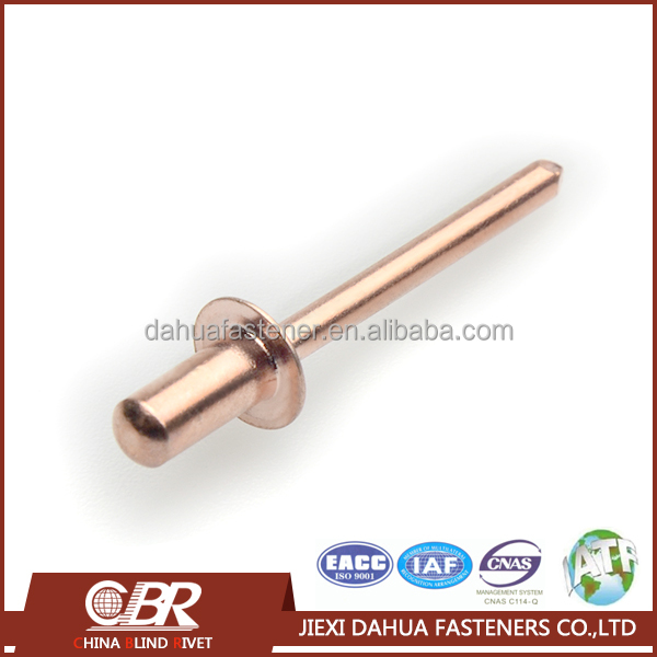 Copper Nickel Round Head Metal Waterproof Rivets