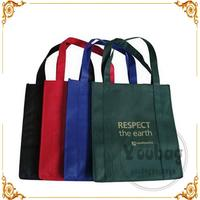 Plastic eco friendly promotional shopping bag for wholesales
