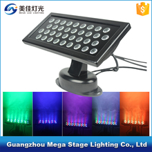 night club outdoor lights ip65 rgb 36 1w led wall washer light