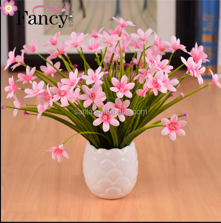 Fresh orchid small potted fake flower simulation floral suit home decoration floral fake flower