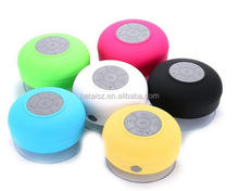 Top Quality Waterproof Mini Bluetooth Speaker +Sucker Portable Round Wireless Speaker Perfect Sound Stereo Music Surround Player