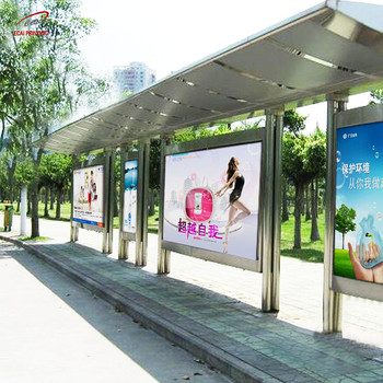 China wholesale custom cheap Made bus shelter poster for outdoor advertising