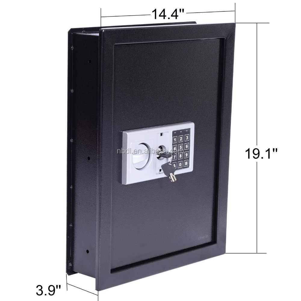 Hidden wall Mounted safe box with combination Lock W50EF