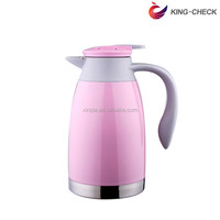 Hot sale silver 1.6L storage coffee and water pot keep coffee warm for home