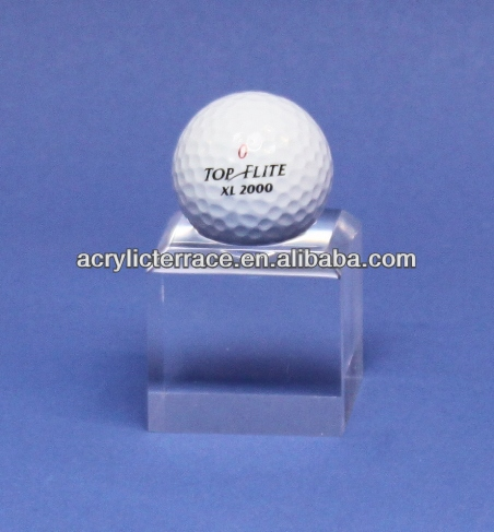 acrylic golf ball display rack stand single - db131201165