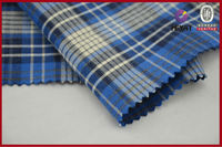 100 Cotton Shirt Fabric Woven Cheap Tartan Fabrics