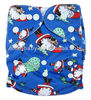 shanghai New Coming Christmas style Prints Cloth Diapers Machine Washable