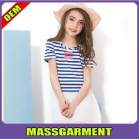 OEM service low price clothes for children, high quality and short sleeve children clothes summer 2015