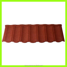 stone coated metal roofing for building/hot sales roof material small size shingle flat roofing tile