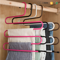 S Type Metal Pants Hangers Trouser