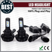 DC12-24V 360degree 6000lm H4 H13 9004 led auto headlight, H7 H8 H9 H11 H16 5202 9005 9006 9012 auto led headlight