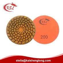 Concrete Terrazzo and Stone Floor Polishing Grinding Pads with Resin Metal bond