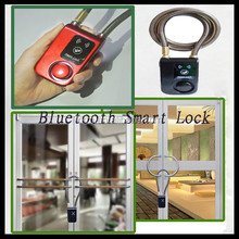 2016 New design electronic stainless steel hotel bluetooth smart lock to prervent from theives